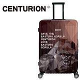 【CENTURION】美國百夫長動物保護系列29吋行李箱-東部大猩猩C77(拉鍊箱/空姐箱)