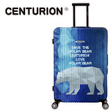 【CENTURION】美國百夫長動物保護系列29吋行李箱-北極熊C79(拉鍊箱/空姐箱)