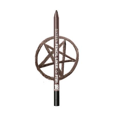 【NG品-5色選】16 brand 玩色眼線膠筆