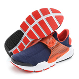 NIKE 男鞋 經典復古鞋 SOCK DART KJCRD 深藍橘 - 819686402