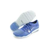 NIKE 女鞋 慢跑鞋 W AIR ZOOM FEARLESS FLYKNIT 藍白 - 850426400
