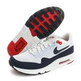 NIKE 男鞋 慢跑鞋 AIR MAX 1 ULTRA 2.0 FLYKNIT 白藍 - 875942100