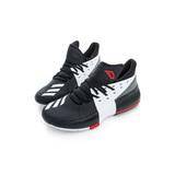 Adidas 女鞋 籃球鞋 D LILLARD 3 J 黑白 - BW0536