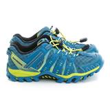 DIADORA 童鞋 慢跑鞋 藍 - DA7AKO3996
