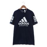 Adidas 男 圓領短T Adidas 360 深藍 - B45736