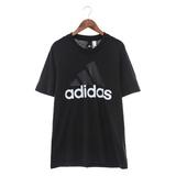 Adidas 男 圓領短T ESS LINEAR TEE 黑 - S98731
