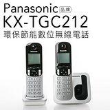Panasonic 國際牌 KX-TGC212 雙子機 數位無線電話【公司貨】 台