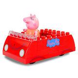 《Peppa Pig》粉紅豬小妹積木系列 - 粉紅豬的車