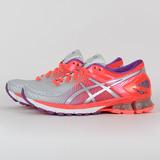 ASICS 女 GEL-KINSEI 6 慢跑鞋 紅灰 T694N9693