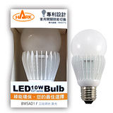 HARK涵柯 LED 10W燈泡 [三段調光] 節能省電BWSAD1 黃光