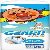 nepia 買一送一!日本境內Genki!空氣感麵包超人 褲型XXL26*3包