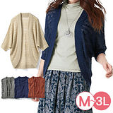 日本portcros 預購-金蔥開襟針織外套(共三色/M-3L)
