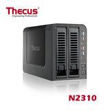 Thecus色卡司 2bay NAS 省電高效能超值網路儲存設備 N2310