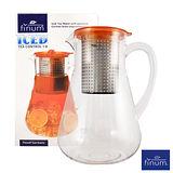 德國FINUM 冷飲泡茶控制壺1.8L-琥珀