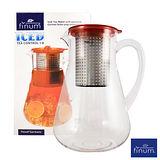 德國FINUM 冷飲泡茶控制壺1.8L-咖啡色