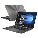 ASUS華碩 UX430UQ-0021A7500U 14吋FHD/i7-7500U/8G/512GSSD/NV940MX 2G 極致輕薄高效筆電(石英灰)