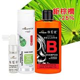 維髮健 高植萃鋸棕櫚強化配方養髮組 (洗髮精+養髮液)