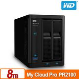 WD 威騰 My Cloud Pro PR2100 8TB (4TBx2) NAS 伺服器