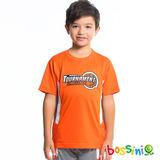 bossini男童-速乾短袖圓領衫17橘