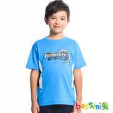 bossini男童-速乾短袖圓領衫17藍