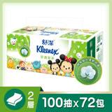 【舒潔】迪士尼舒適潔淨抽取衛生紙(100抽x12包x6串)/箱