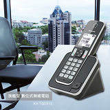 【PANASONIC 國際牌】DECT 旗艦型 數位式無線電話 KX-TGD310B / KX-TGD310 (英文顯示)