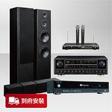 【金嗓】Golden Voice 歡唱金曲歌唱組 (CPX-900 Z1+S-ES3TB+KA-810+R-609) 點歌機+Pioneer揚聲器喇叭+綜合擴大機+無線麥克風