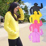 【日本熱銷】COLORFULl抗UV吸排涼感連帽外套 防曬手袖 (四色任選)