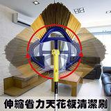 金德恩 台灣製 伸縮便利天花板清潔刷