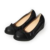 (女) 范倫鐵諾 交叉繩結楔形包鞋 黑 女鞋 鞋全家福