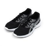 (男) ASICS STORMER 運動跑鞋 黑銀 T741N-9093 男鞋 鞋全家福