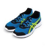 (男) ASICS STORMER 運動跑鞋 藍螢綠 T741N4-4507 男鞋 鞋全家福