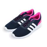 (女) ADIDAS LITE RACER W輕量透氣跑鞋 深藍白 AW3831 女鞋 鞋全家福
