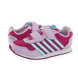 K-Swiss New Haven Strap復古休閒鞋-童-紫紅/粉紅/白