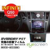 EyeScreen INFINITI Q50 (2016車式下螢幕) Everdry PET 車上導航螢幕保護貼(無保固)
