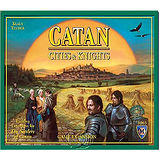 『德國新天鵝堡SWANPANASIA』卡坦島騎士擴充 Catan : Cities & Knights Expansion