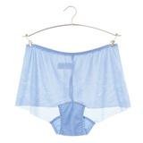 【黛安芬】Stretty小褲 零著感系列平口褲 M-EL(晴空藍)