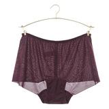 【黛安芬】Stretty小褲 零著感系列平口褲 M-EL(深栗紫)