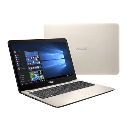 ASUS 華碩 X556UR-0031C6200U 15吋/i5-6200U/1TB/GT930MX 2G獨顯/Win10筆電(金) -friDay購物 x GoHappy