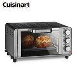 特促【Cuisinart 美膳雅】多功能不鏽鋼烤箱 TOB-80TW