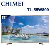 CHIMEI奇美 55吋 4K低藍光聯網顯示器+視訊盒(TL-55W800)