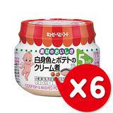 ✪日本KEWPIE M-57奶油鱈魚馬鈴薯泥✪70gX6