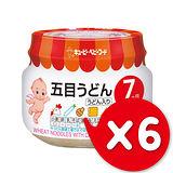 ✪日本KEWPIE PR-72野菜雞肉烏龍麵泥✪70gX6