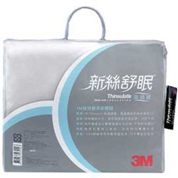 3M 新絲舒眠-涼透被5x6 (灰色)