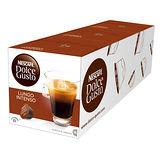 雀巢 NESCAFE 美式濃黑濃烈咖啡膠囊(3盒組,共48顆)(Lungo Intenso)