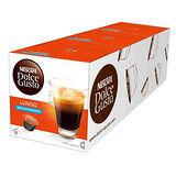 雀巢 NESCAFE 低咖啡因美式濃黑咖啡膠囊(3盒組,共48顆)(Lungo Decaffeinato)