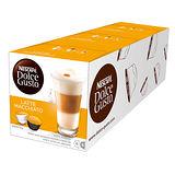 雀巢 NESCAFE 拿鐵咖啡膠囊(3盒組,共48顆)(Latte Macchiato)