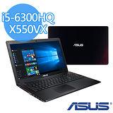 (福利品) ASUS X550VX 15.6吋FHD/i5-6300HQ/1TB/GTX 950M 2G獨顯/WIN10 效能筆電(黑紅)
