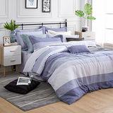 MONTAGUT-布魯克林-200織紗天絲-五件式鋪棉床罩組(加大)