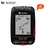 Bryton Rider 330T 中文無線連網自行車導航記錄器(含ANT+踏頻器與心律感測器)